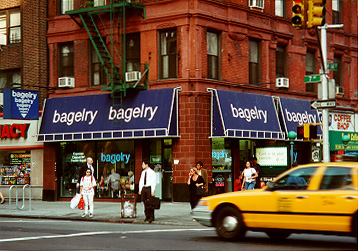 Bagelry on 7th Ave. & 14th St.