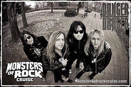 Danger Danger on Monsters Of Rock Cruise 2017