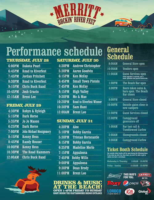 DarkHorse : Merritt Rockin' River Fest / July 29, 2016