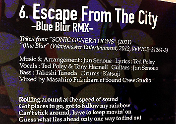 """Escape From The City"" Credit"