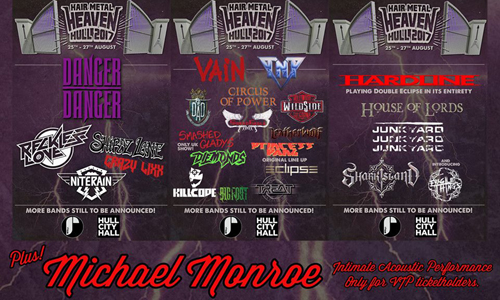 Hair Metal Heaven : the Bands (Feb, 2017)