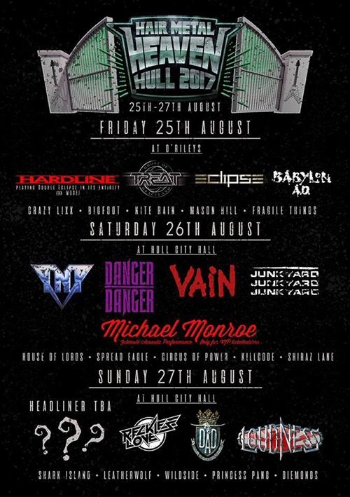 Hair Metal Heaven : Day Splits