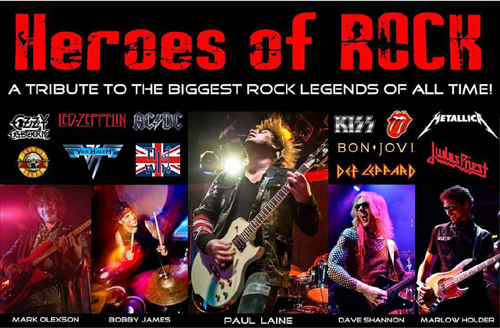 Heroes of ROCK - Band Members