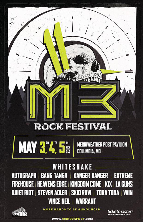 M3 Festival 2019 - May 3, 4 & 5 at Merriweather Post Pavilion, Columbia, MD, USA