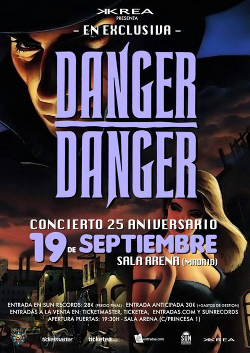 """Danger Danger in Madrid 2014"" Poster"