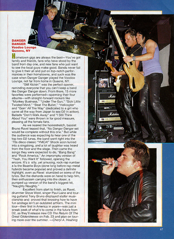 Metal Edge March Issue 2000