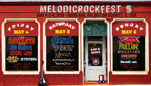 The Defiants : MelodicRockFest 5 - August 18 Announcement
