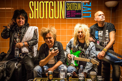 "Shotgun's Live Album ""Down Decadencia Derive"" : Release Date May 7th"