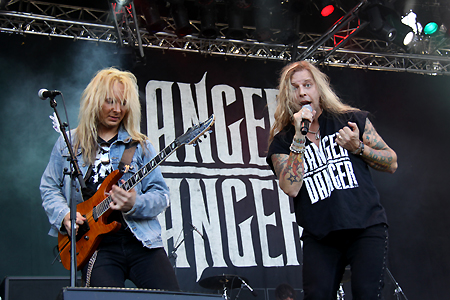 Danger Danger at Rockweekend Festival in Sweden 2010 #2