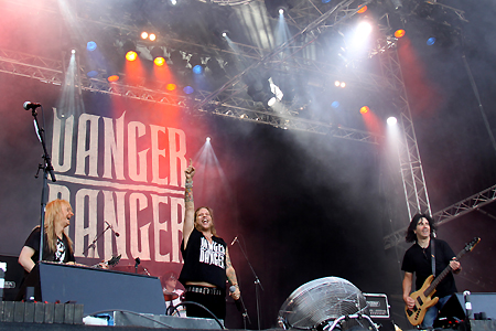 Danger Danger at Rockweekend Festival in Sweden 2010 #8