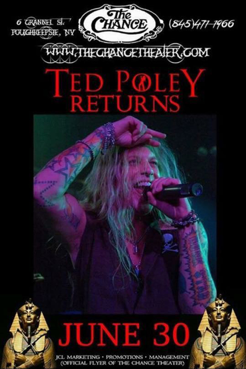 Ted Poley : The Chance Theater, Poughkeepsie, NY June 30, 2017