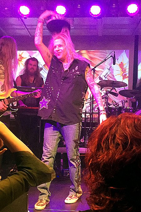 Ted Poley at Rock Weekend AOR 2016 in Stockholm Sweden #2