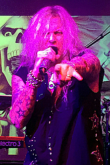 Ted Poley at Rock Weekend AOR 2016 in Stockholm Sweden #4