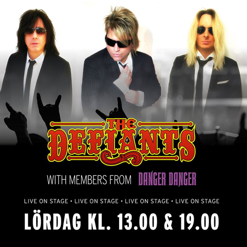 The Defiants : Sweden Rock Festival - June 9, 2018