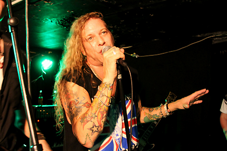 Ted Poley Band Scandinavian Tour 2011 #3