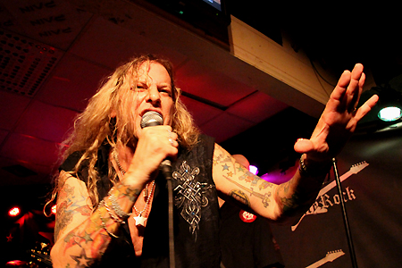 Ted Poley Band Scandinavian Tour 2011 #5