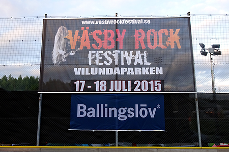 Danger Danger at Vasby Rock Festival 2015 in Upplands Vasby, Sweden #1 : Vunue Outside