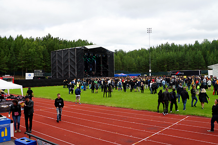 Danger Danger at Vasby Rock Festival 2015 in Upplands Vasby, Sweden #2 : Festival Ground